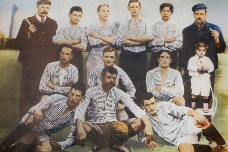 équipe de Boca Juniors en 1906