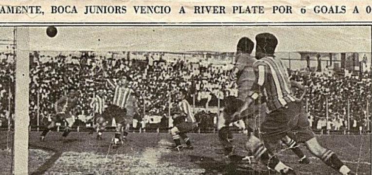 Boca - River 1928
