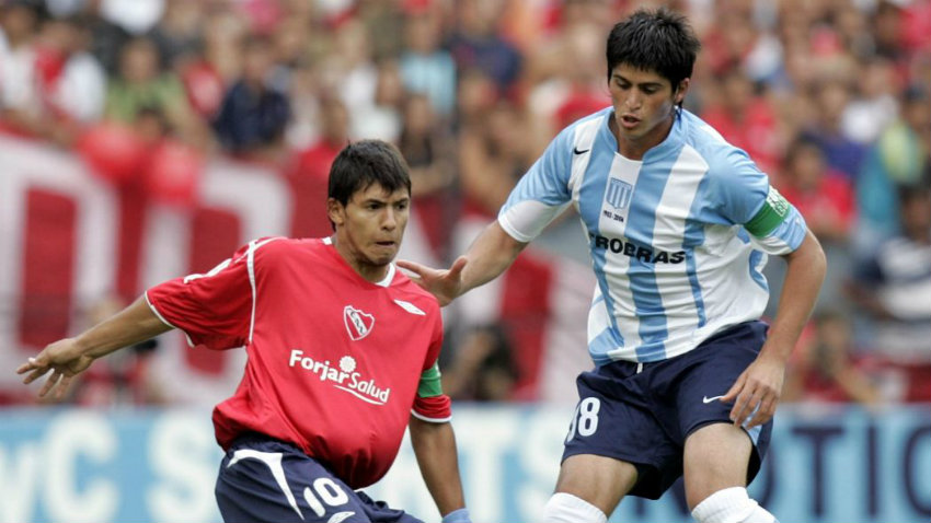 Kun Aguero contre Racing club