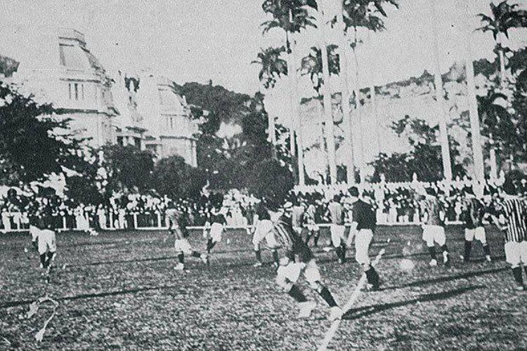 Le tout premier classico entre Flamengo et Fluminense, en 1912