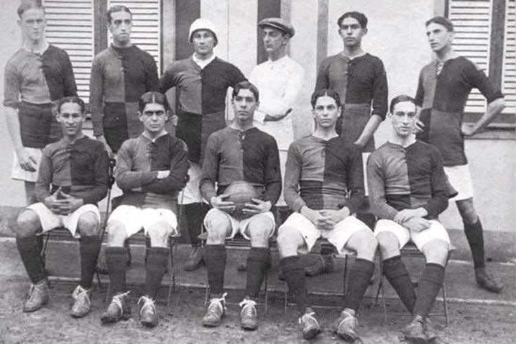 Flamengo avant la rencontre contre Payssandu le 06/10/1912
