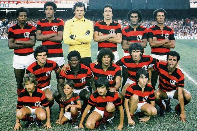 Flamengo champion du Brésil 1980