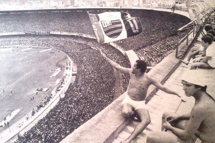 Des supporters de Flamengo au Maracanã