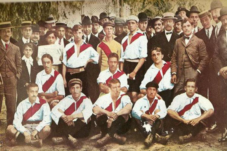 L'équipe de River Plate 1908