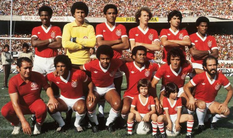 L'Internacional, champion du Brésil 1975, 1976 et 1979