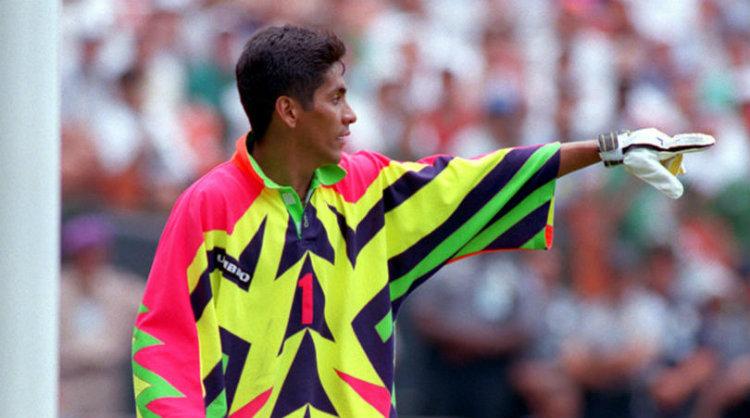 Jorge Campos lors de la Coupe du Monde 1994 aux Etats-Unis
