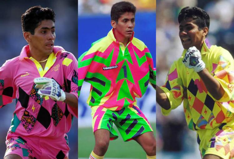 Jorge Campos et ses maillots colorés