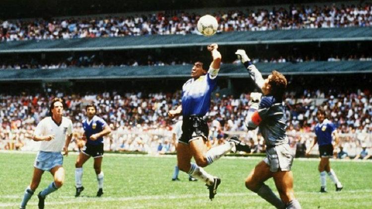 La Mano de Dios de Diego Maradona