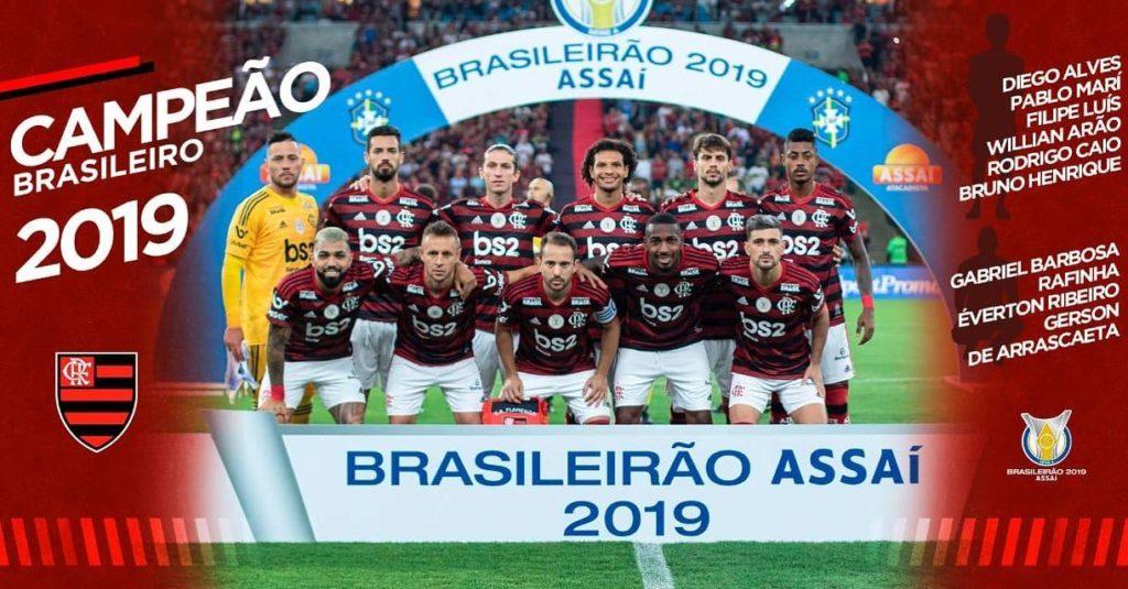 Flamengo champion du brasileirão 2019