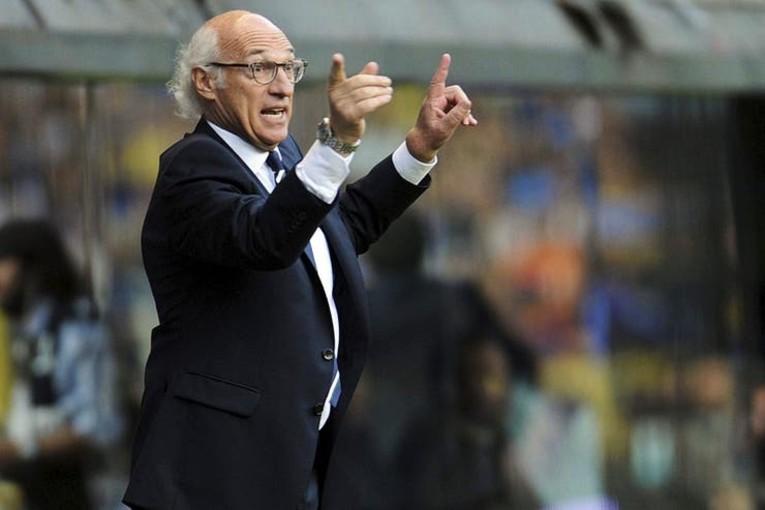Le coach Carlos Bianchi