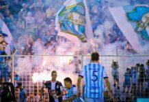 Les supporters de l'Atlético Tucuman