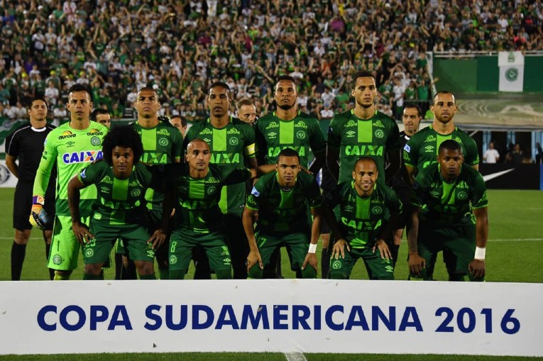 L'équipe type de Chapecoense en 2016