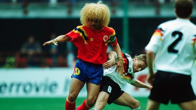 """El """"Mono"""" réalise son rêve de représenter la Colombie en Coupe du Monde en 1990 en Italie"""