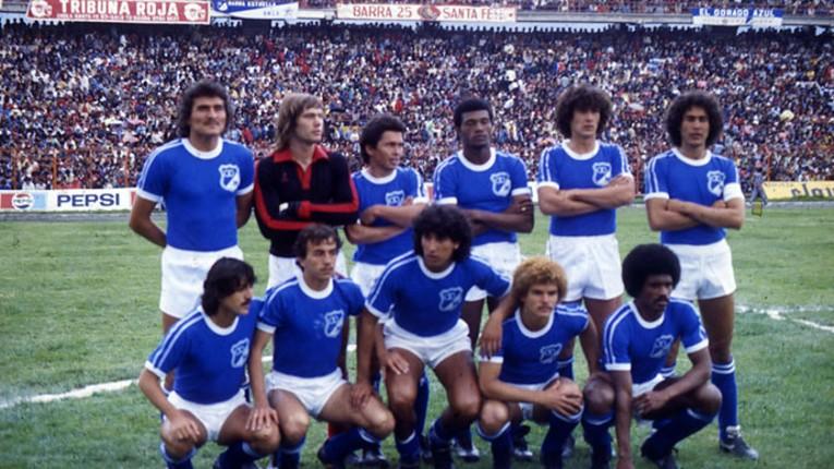 "En 1984, el ""Mono"" rejoint Millonarios, une des plus grandes équipes de Colombie"