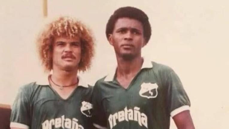 Le duo Valderrama - Redín qui a fait le bonheur du Deportivo Cali.