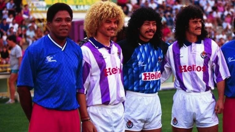 Après la Coupe du Monde, Francisco Maturana fue a entraîné Valladolid et a amener avec lui Valderrama pour jouer avec René Higuita et Leonel Álvarez.