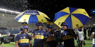 Boca vainqueur de la Copa Diego Maradona