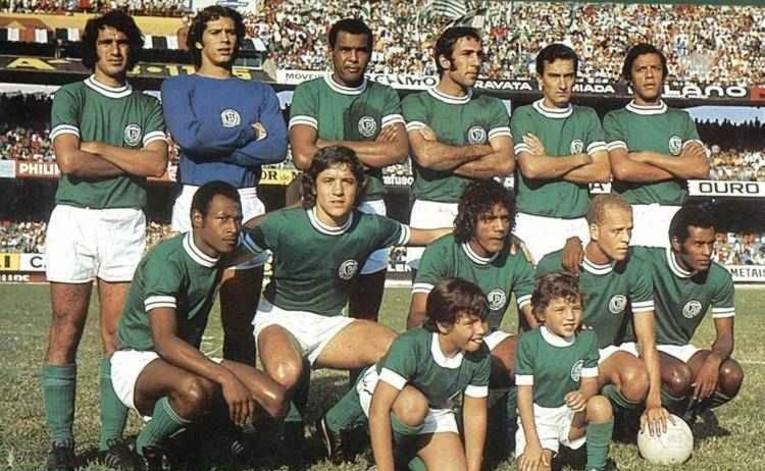 La deuxième Academia de Palmeiras entre 1972 et 1974.